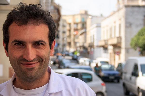 Vincenzo Colucci del Caseificio Pioggia